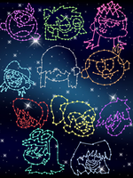 The Loud House Constellations by starstruck957