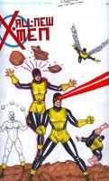 All-New X-men by MichaelBrower