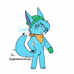 [Request] Gabe the Foxat by StrayCat-Terry