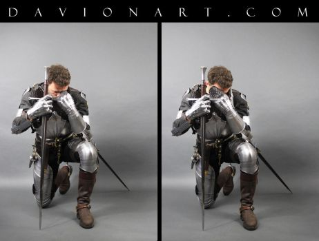 15th Century Knight STOCK VIII by PhelanDavion