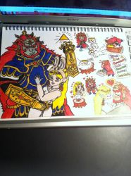 Demon King Ganondorf Chibi Adventure by ForestKitty22