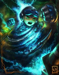 Mighty No 9 Tornado Stinger by Emortal982