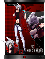 BJBB: Mono Chrome [Hearts] by Bunni-Hime