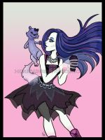 Monster High: Spectra Floats 2 by I-heart-Link