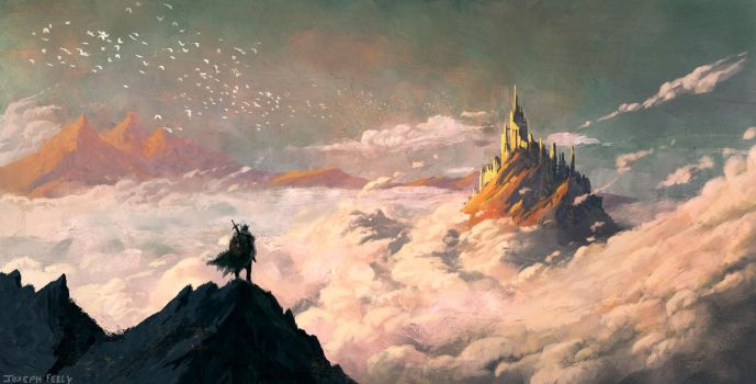 Viking Above the Clouds by Yosefly