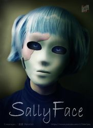 Sally Face cosplay by DeluCat
