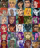 Icon Compilation 1 of 3 by brianne333