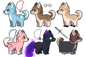 Pups Adopts by alys04