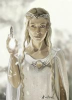 Galadriel - Lord of the ring - The hobbit by Saryetta86
