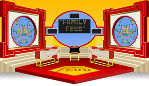 Family Feud set - 1988 2 by wheelgenius