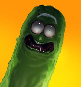 Pickle Riiiiiick by unded