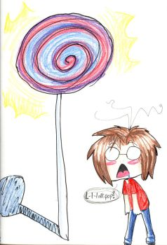 .:: L-l-lollipop ::. by Kin-sama