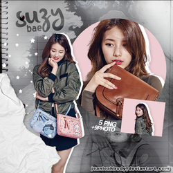Png Pack #28 Bae Suzy (Miss A) by JeanleahBudy