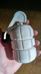 3d printed borderlands Grenade by kakodrake