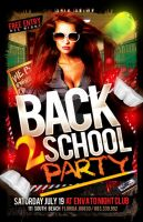 Back to School Flyer by Industrykidz