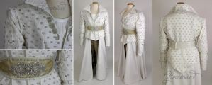 Snow White OUAT Cosplay Battle Coat by glimmerwood