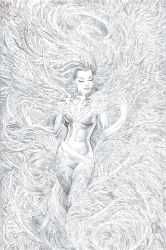 Phoenix Resurrection Cover Pencils by Nisachar