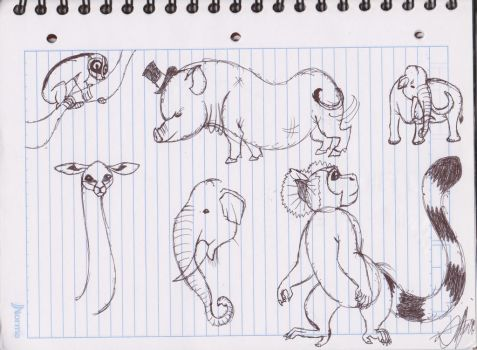 Memory doodles by zebG