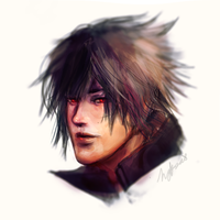 Noct Me Out (Speedpaint) by Nero-Shade
