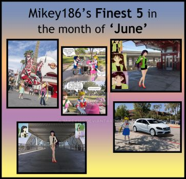 Finest 5 meme June by Mikey186