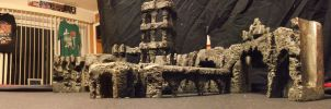 Ancient City Ruins Model by pink12301