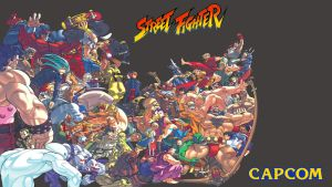 Street Fighter Wallpaper 1080p by mau5traP