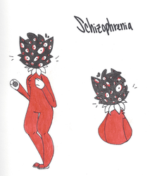 Schizophrenia by Undercooked-Meat