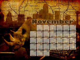 NaNoWriMo DFW Calendar by MerCave