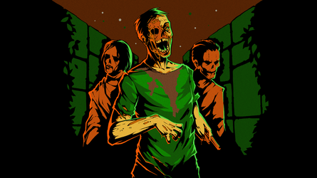 8-bit Adventure Anthology Steam Card - Zombies by Polymental69