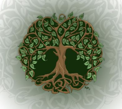 Logo Tree of Life by carbonism