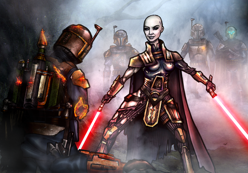 Ventress Unleashed by AraxussYexyr