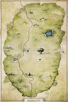 Map commission : Miradep Forest by Tiphs