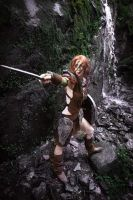 Aela the huntress The Elder scrolls V Skyrim by Wildyama