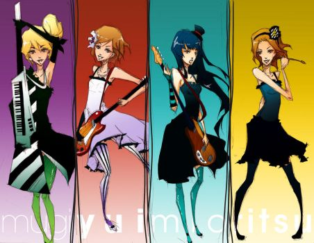 K-ON by Aniteen9