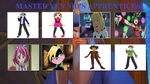 Master Yen Sid Apprentices by MarioFanProductions