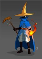 Black Mage - Final Fantasy by LucasMaiaART