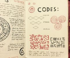 Gravity Falls Journal 3 Replica - Codes by leoflynn