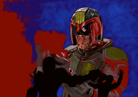 Judge Dredd by UltimateHurl