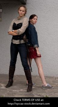 G+S Ginger and Scarlett 6 by syccas-stock