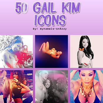 Gail Kim Icon Pack by mynameis-snAzzy