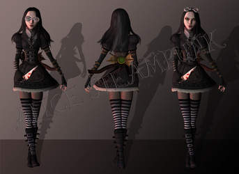 Alice Steampunk by tombraider4ever