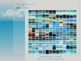 Ocean Breeze Psp Gradients by ElvenSword