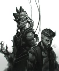 Human and Beast by Pyroow