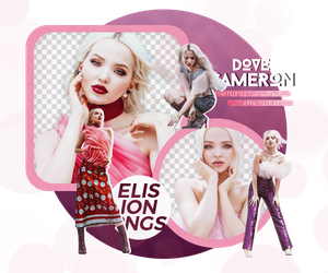 PACK PNG 114 // DOVE CAMERON by ELISION-PNGS