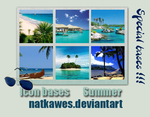 Icon bases - Summer by Natkawes