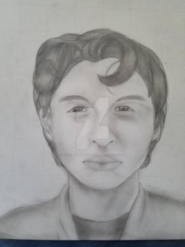 Portrait of Finn Wolfhard  by BloodbathDAnightwing