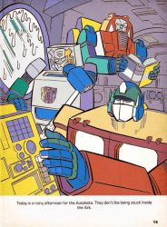 A Rainy Afternoon For The Autobots by Drancron