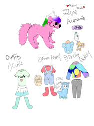 Baby Pink's ref by Burricon-wolflord