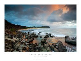 Forresters Beach on Sunrise by MattLauder