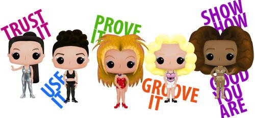 Who Do You Think You Are - Spice Girls Funko Pop! by xerrife